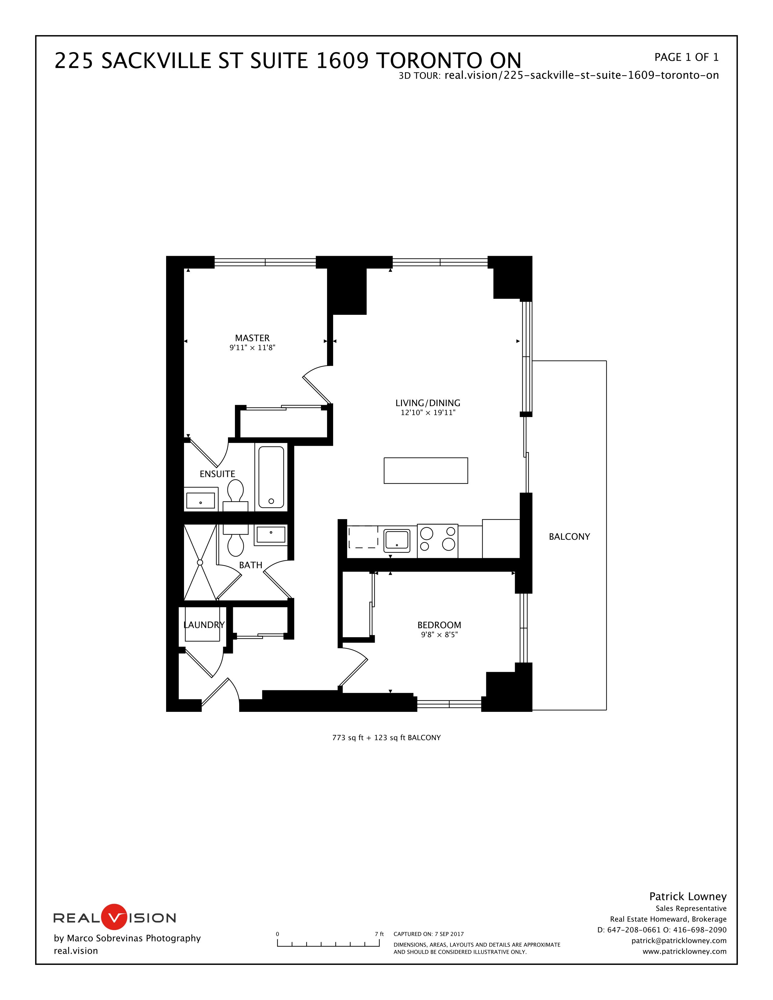 225 Sackville St Suite 1609 Toronto ON