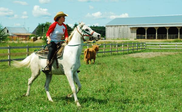 activite cowboy baluchon