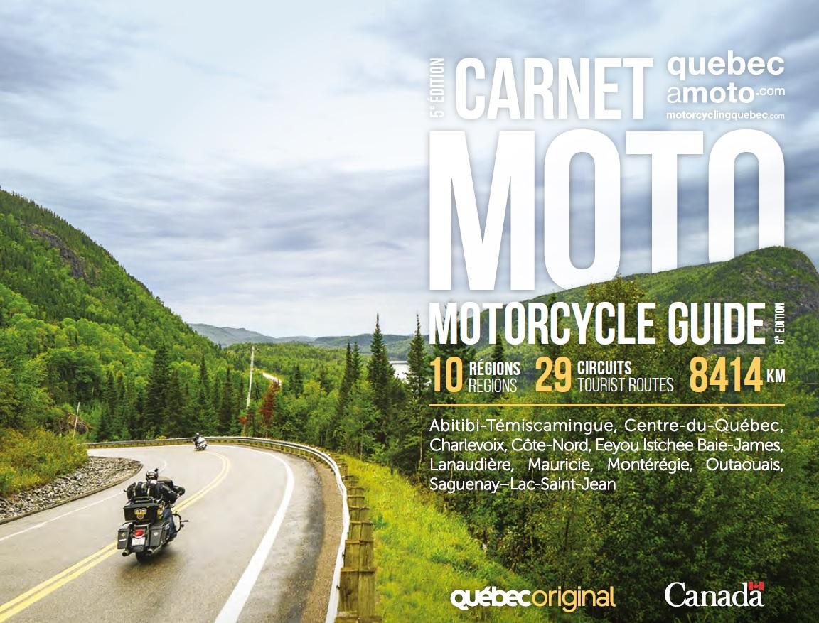 Carnet moto : 10 régions