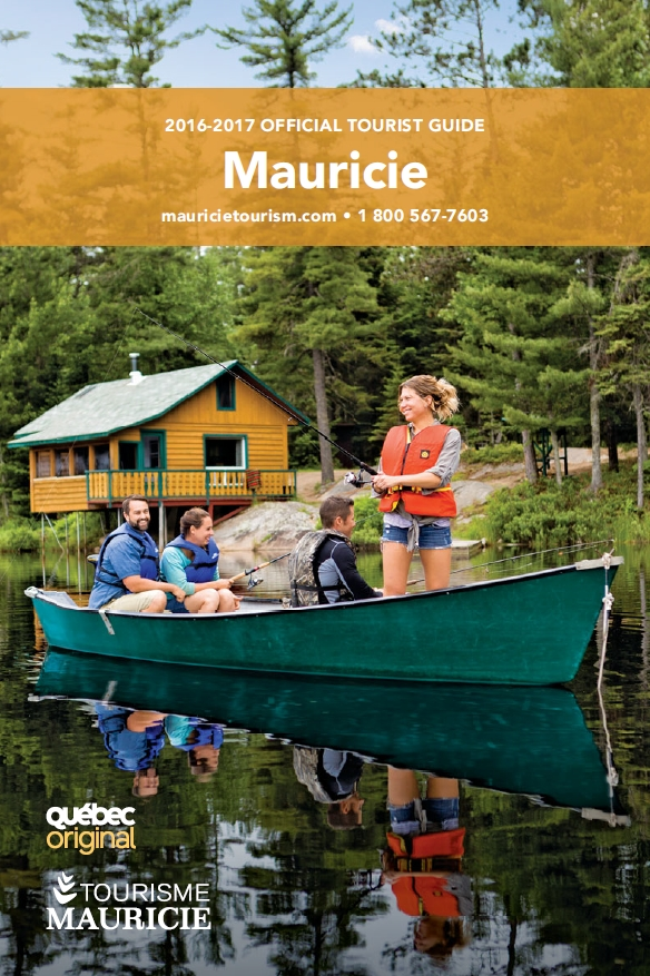 Guide touristique officiel de la Mauricie 2016-2017