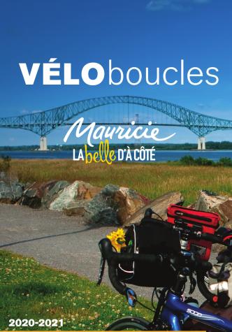 Carte du réseau cyclable en Mauricie
