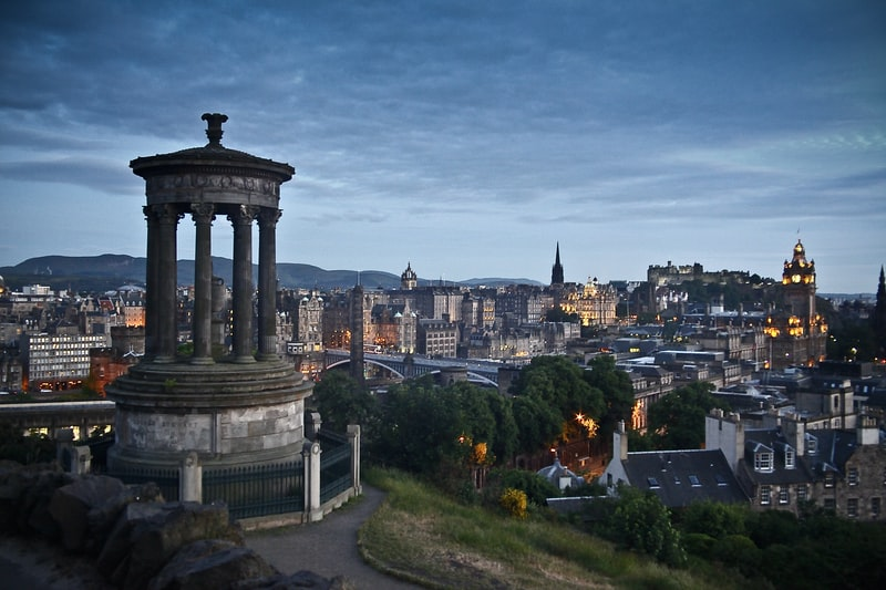 The Best Places to Visit in Europe in October-Edinburgh