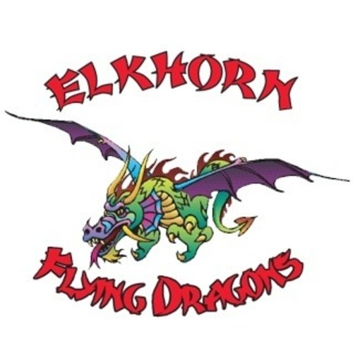 Elkhorn flying dragons  google square