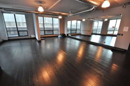2nd Floor Yoga Studio / Stretch Room.