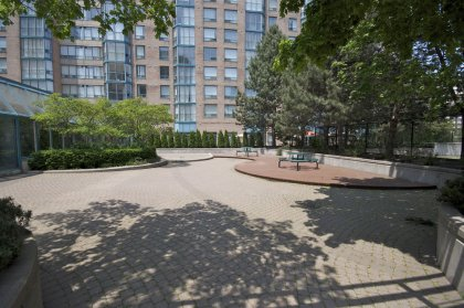 Private Parkette For The Residents Of The Enfield Place Condominiums.