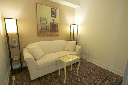 Separate Den Area Can Be Used As A 2nd Bedroom / Home Office With Hardwood Flooring.