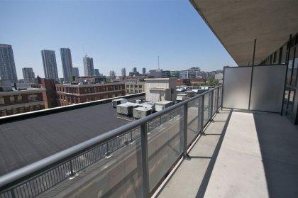 Large Over Sized Balcony Area.