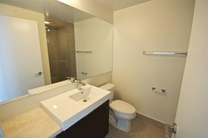 Main Bath With Full Sized Mirror.