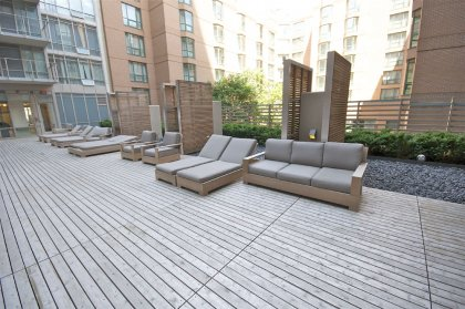 The Outdoor Terrace With Lounge Area & BBQ's.