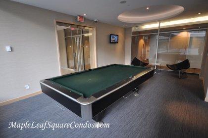 The Exclusive Billiard Room.