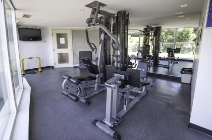 Fitness / Weight Area.