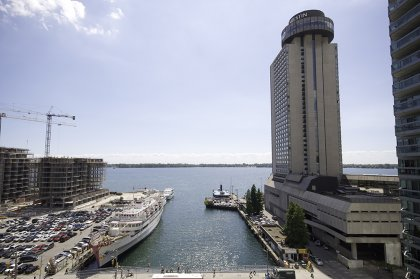 Gorgeous Unobstructed South Lake Views Including The C.N. Tower.