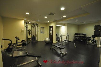 2nd Floor - WaterClub Fitness Room.