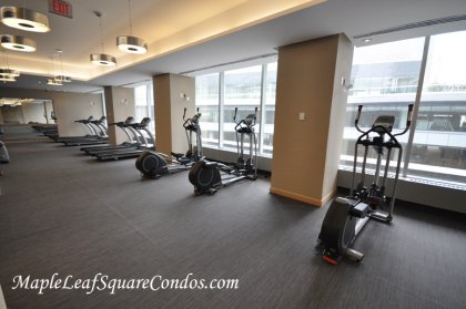 9Th Floor Fitness & Weight Areas.
