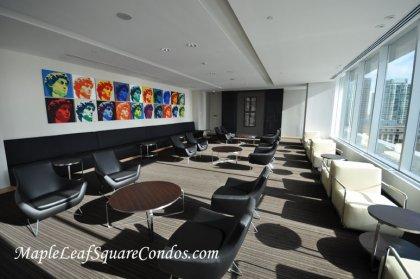 9Th Floor Party Room Facing South Lake Views.