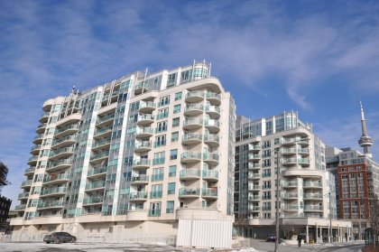 Welcome To Queens Harbour at 600 Queens Quay West.
