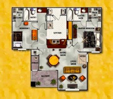 900+ square feet w/ private patio and storage