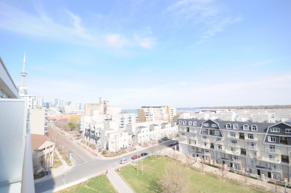 Stunning Unobstructed Lake Views Facing The Park, Marina, The Island Airport & CN Tower.