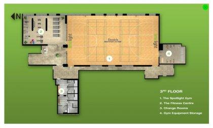 3rd Floor - Amenities Floor Plan.