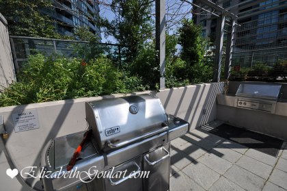 Outdoor Roof Top Garden With A Jacuzzi, Tanning Deck & B.B.Q's.