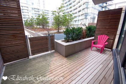 Large Terrace With A Walk-Out To The Sundeck & B.B.Q's.