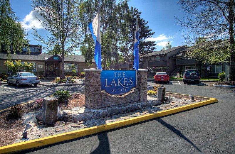 The Lakes entrance