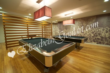 Billiards Area.