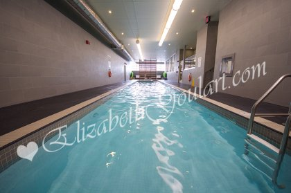 Indoor 25M Lap Pool With Jacuzzi.