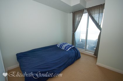 Spacious Sized Bedroom With A 4-Piece Ensuite & A Walk-Out Balcony.