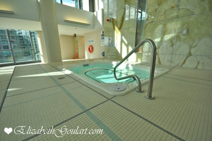 Indoor Jacuzzi With Pool.