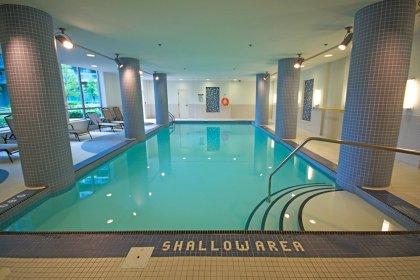Indoor Pool With Jacuzzi.