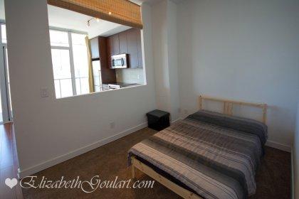 Open Concept Master Bedroom.