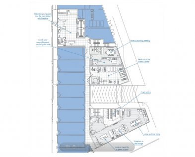 Ground Floor Amenities Floor Plan.
