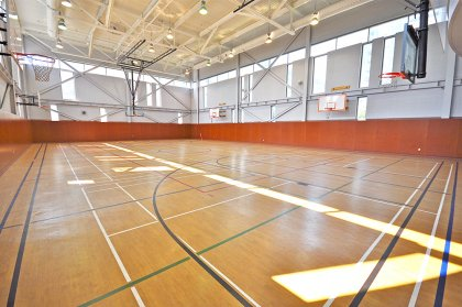30,000 Sq.Ft. Superclub Complex Featuring Fitness/Weight Area, Indoor Lap Pool, Bowling, Billiards, Basketball, Squash & Tennis Courts.