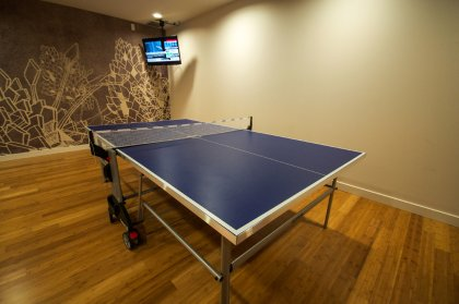 Ping Pong Area.