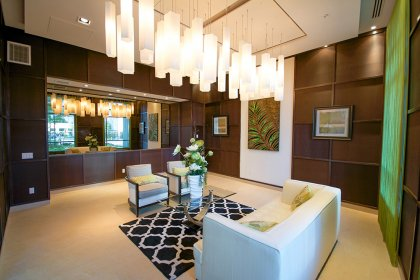 Grand Lobby Lounge Area.