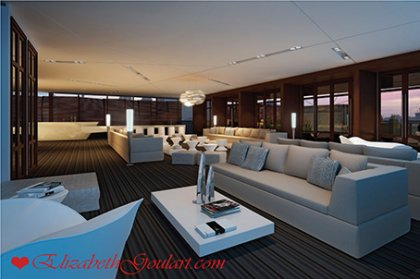 Roof Top Party Room With Chef's Kitchen.