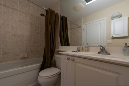 Master Ensuite With A Full Sized Mirror.