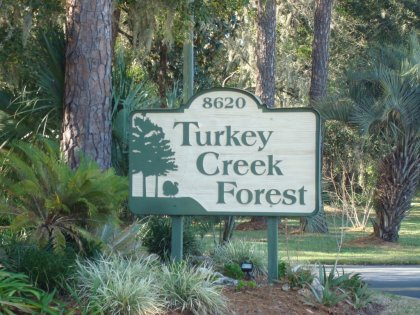 Turkey Creek Forest is located at the northern edge of the City of Gainesville, yet a short ride to groceries and restaurants.
