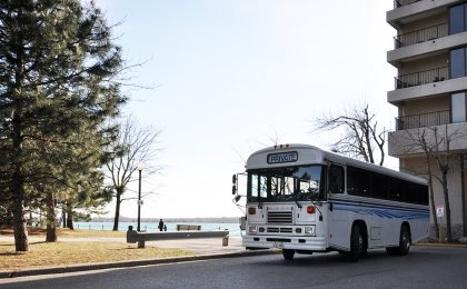 Enjoy The Exclusive Service Use Of The Private Shuttle Bus.