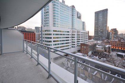Large Balcony Area.