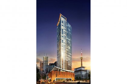 Welcome To The Cinema Tower Condominiums At 21 Widmer Street.