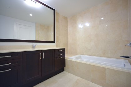 Spacious Sized Master Bedroom With A 4-Piece Ensuite With Separate Soaker Tub & Stand-Up Shower.
