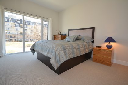 Spacious Sized Master Bedroom With A 3-Piece Ensuite & Walk-In Closet.