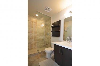 Master Bedroom 3-Piece Ensuite & Separate Frameless Glass Stand-Up Shower.