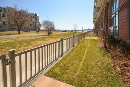 Enjoy Downtime & Barbeques In Your Very Own Private & Gated Walk-Out Patio Oasis Facing Lake & Park Views.