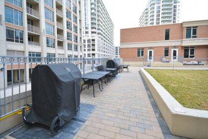 2nd Floor Garden & Outdoor Barbecue Area.