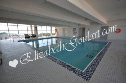 11th Floor Harbour Club Amenities. Indoor Pool & Jacuzzi Overlooking Lake And Park Views.