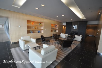 55 Bremner Blvd. - 9th Floor - South Tower Lobby Area.