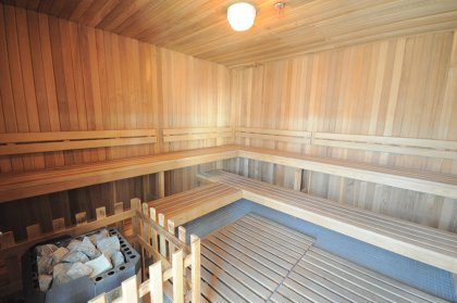 Roof Top Sauna Area.